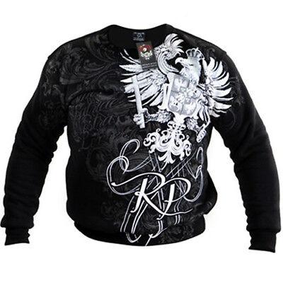 Sweatshirt Hoodie Bluza Black Patriotic Eagle Poland Wielka Polska Walczaca NSZ