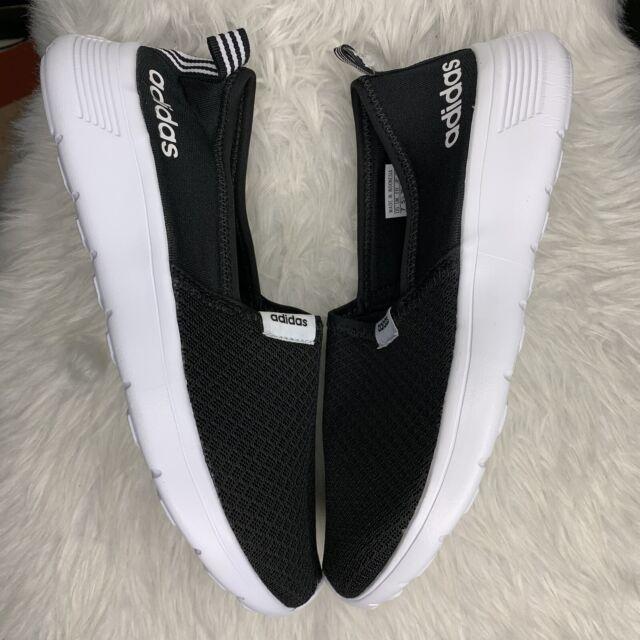 adidas Neo Cloudfoam Black White Racer