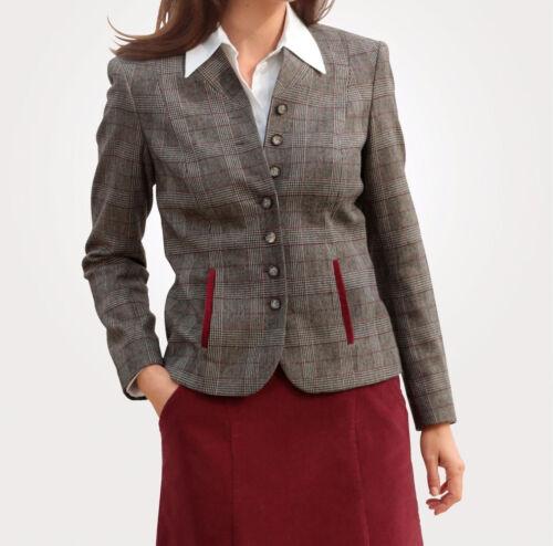 TG NUOVO!! marrone Mona Blazer Con Gomito Patch 52 Kp 179,99 € SALE/%/%/%