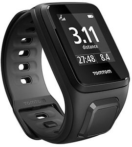 TomTom-Runner-2-Cardio-Multisport-Laufuhr-Herzfrequenz-black-S-L-GPS-Tracking