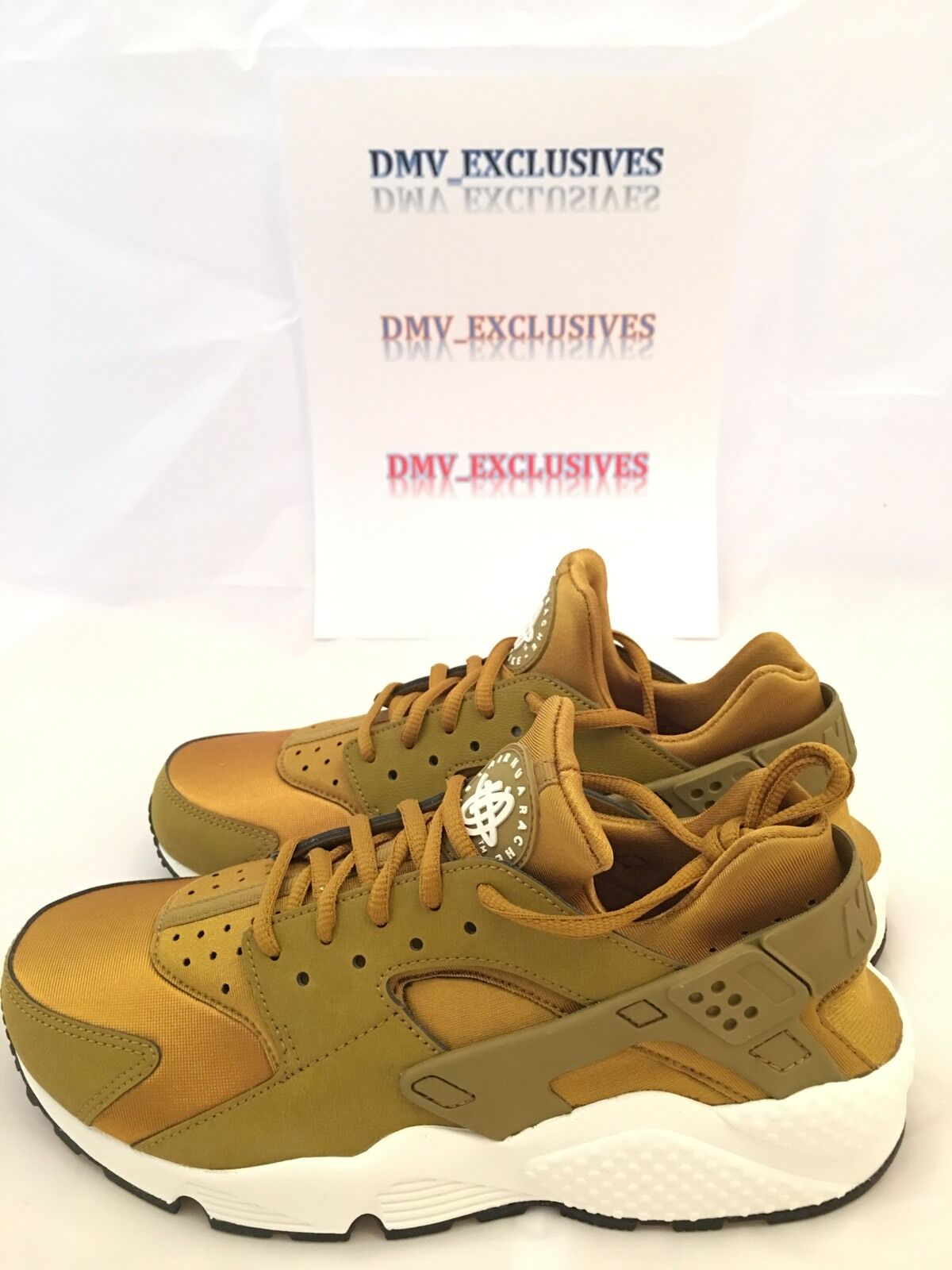 Nike Womens Air Huarache Run Bronzine Gold 634835-700