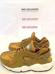 new styles 75d34 d8883 Image is loading Nike-Womens-Air-Huarache-Run-Bronzine-Gold-634835-