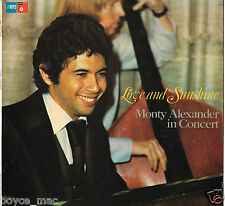 mps LP : MONTY ALEXANDER-love & sunshine  (hear)   with Ernest Ranglin promo