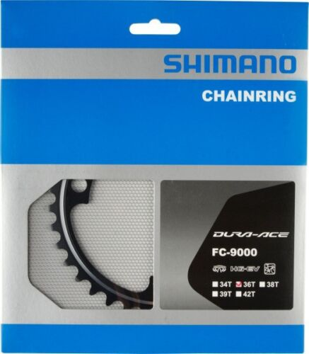Shimano FC-9000 Fahrrad-Kettenblatt Dura Ace 34 36 38 39 40 42 50 52 53 54 55 Z.