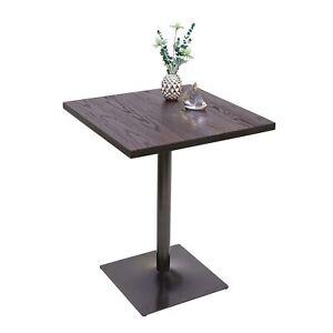 Tavolino Alto Design Industriale Hwc H10 Acciaio Legno Di Olmo Fsc Marrone Ebay