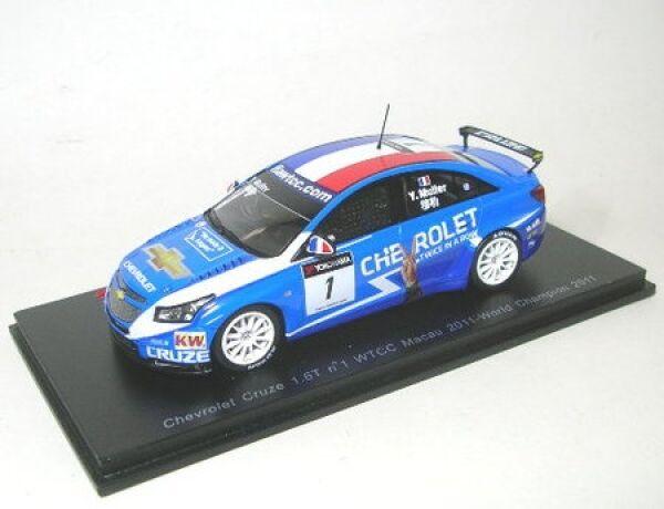 Chevrolet Cruze 1.6T No. 1 Wtcc Macau World Champion 2011