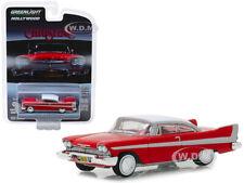 AUTOWORLD AWSS6401 CHRISTINE 1958 58 PLYMOUTH FURY 1:64 NIGHT VERSION MODEL RED