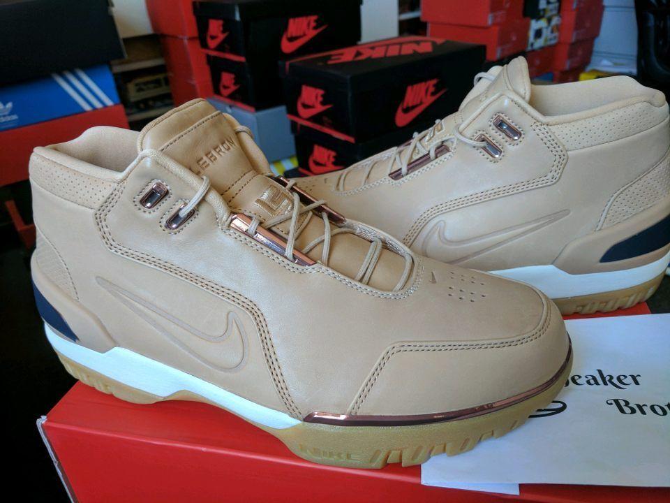 Nike LeBron Air Zoom Generation All Star AS QS Vachetta Tan Rose Gold 308214-200