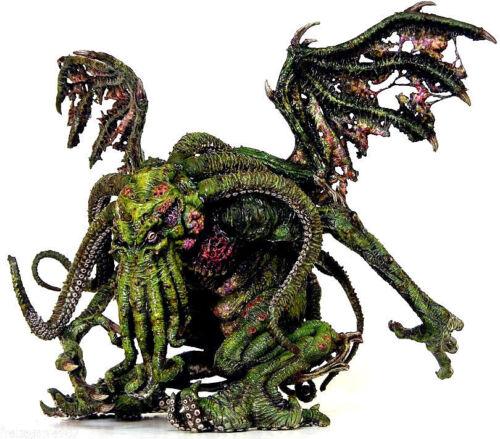 H P LOVECRAFT  CTHULHU Green Version PVC figure 18cm by Sota