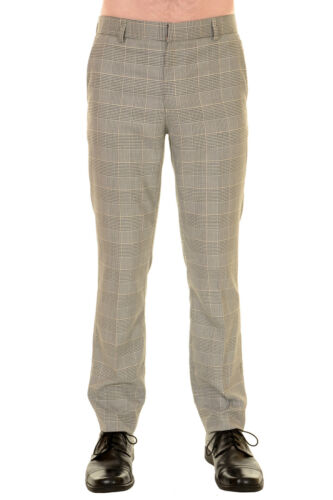 di Principe '60 retrò modello Pantalone skinny attillato da anni Galles uomo gz6fSqOw