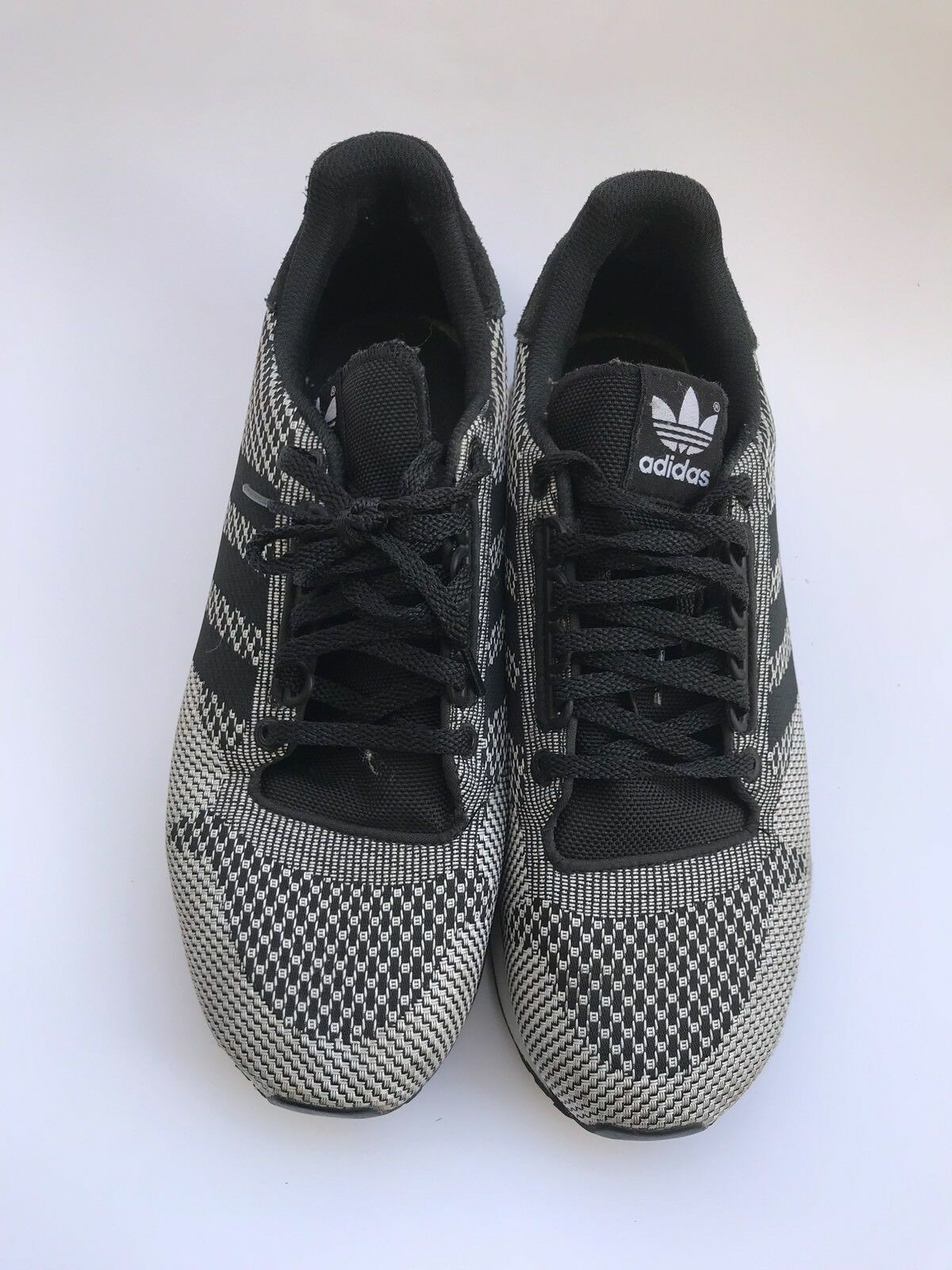 Adidas zx 500 10 og Weave Negro Gris 10 500 zapatillas de deporte de hombre usado buen estado 671843