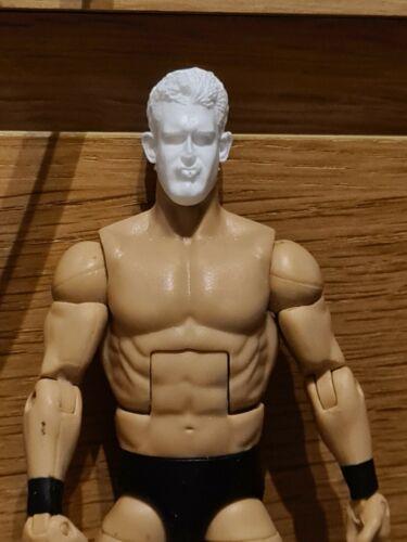 WWE Mattel custom head Cast-Mattel Jakks Grand Master Sexay Figure fourragères