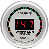 Autometer Ultra Lite street Wideband O2 Air Fuel Ratio Gauge 2 1/16 (52mm)