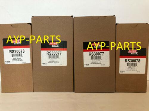 RS30077 OUTER /& RS30078 INNER BALDWIN AIR FILTER SET AF25890 AF25889