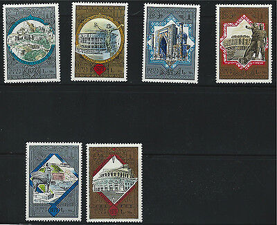 Stamps Russia Sc B121-b126 Moscow '80-monuments-buildings Mnh 1979 Do You Want To Buy Some Chinese Native Produce?
