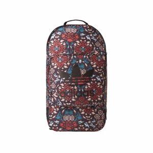 8cf20d6c138b Image is loading Adidas-OB-Street-Ornamental-Block-Pattern-Black-Backpack-