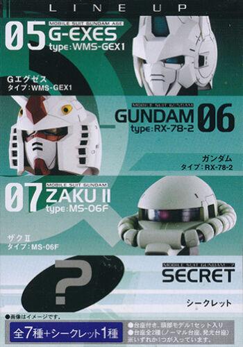 Gundam Head Collection   Gundam AGE-1 Figure with LED Eyes  NEW        US SELLER