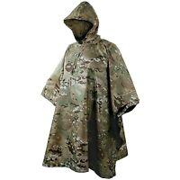Us Army Hooded Waterproof Ripstop Poncho Basha Multicam
