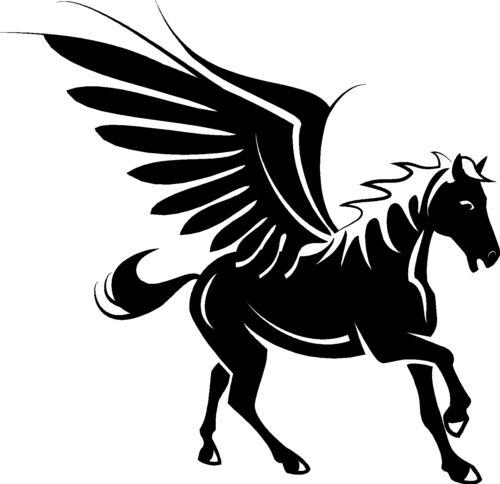 environ 40.64 cm Pegasus Decal//Autocollant 16 in