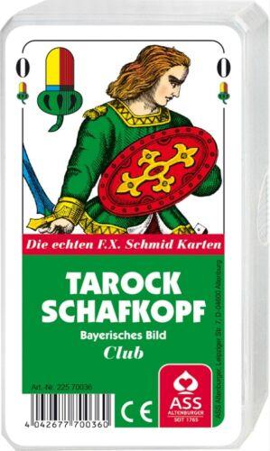 Kartenspiel ASS Tarock//Schafkopf bayerisches Bild