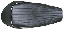 Sitzbank Bezug original Denfeld für BMW R50/5 R60/5 R75/5 kurz , Kederfarbe:weiß