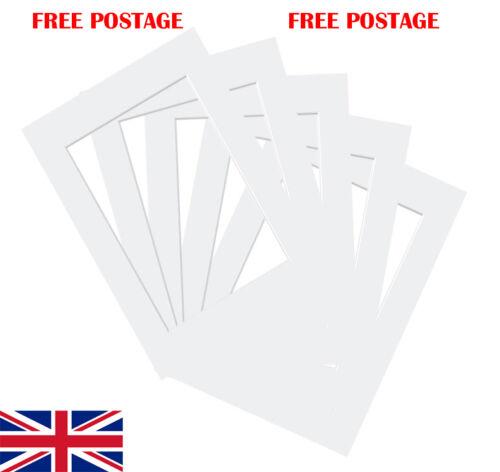Foto//Imagen Blanco Puro Montaje todos los tamaños arriba to11x9 Single//paquetes de envío gratis