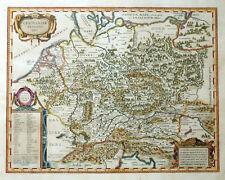 GERMANIAE VETERIS TYPUS DEUTSCHLAND REICH KARL DER GROSSE ORTELIUS BLAEU 1635
