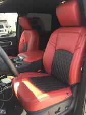 2019 2020 Ram 150025003500 Crewcab Custom Leather Upholstery Cardinalampblack