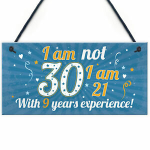 Image Is Loading Funny 30th Birthday Gift Hanging Plaque Novelty Friendship