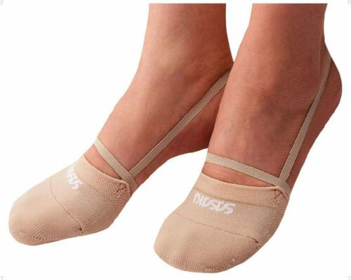 SASAKI Demi Half Shoes #153 Rhythmic Gymnastics Kids Junior Ladies Beige S size