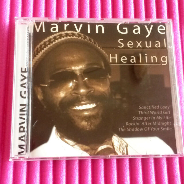 Marvin Gaye CD Sexual Healing 10 TOP Soul Songs Walkin in the Rain, I live for