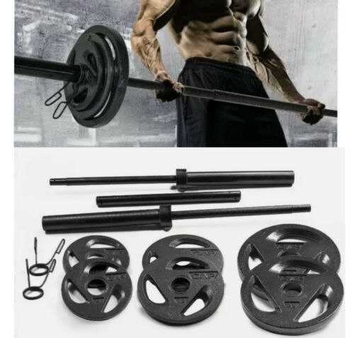 CAP Barbell Olympic Weight Set 110 LBS Plates NEW Free Fast Shiping IN HAND