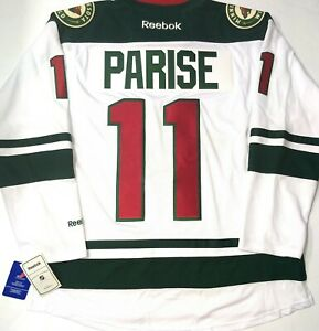 MEN-NWT-MEDIUM-ZACK-PARISE-MINNESOTA-WILD-WHITE-REEBOK-NHL-HOCKEY-JERSEY
