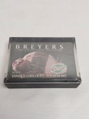 Breyer's Ice Cream Vintage Set Of Playing Cards sealed