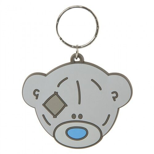 ME TO YOU KEYRING G01K0260 BEAR HEAD PVC NEW WITH TAG