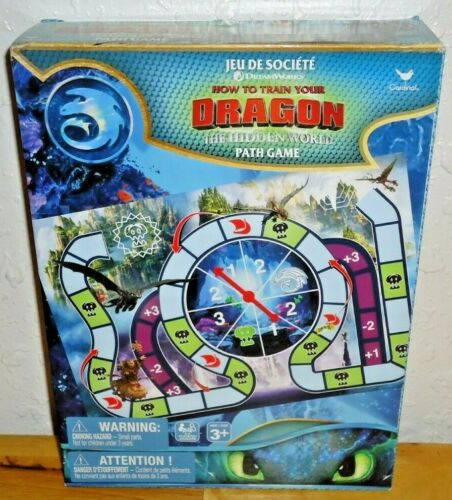 How to Train Your Dragon The Hidden World Path Board Game by Cardinal NEW