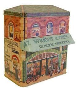Tin-Bread-Box-Storage-Box-Food-Home-23-cm-Jewelry-Box-New