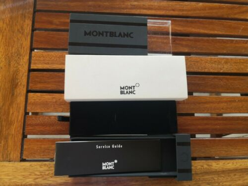 MONT BLANC  EMPTY  BOX FOR SCENIUM M25700 PEN BOX ONLY