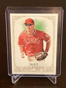 2012-Topps-Allen-amp-Ginter-Mike-Trout-Rookie-Card-Los-Angeles-Angels-Mint-RC