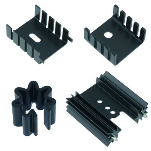 TO220 TO5 Heatsinks Alloy for Transistors Voltage Regulators Heatsink