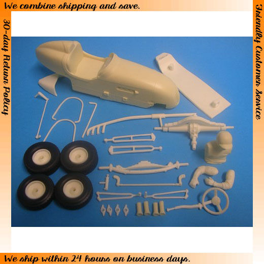 1 24 Speed Car (Complete Curbside Resin kit)
