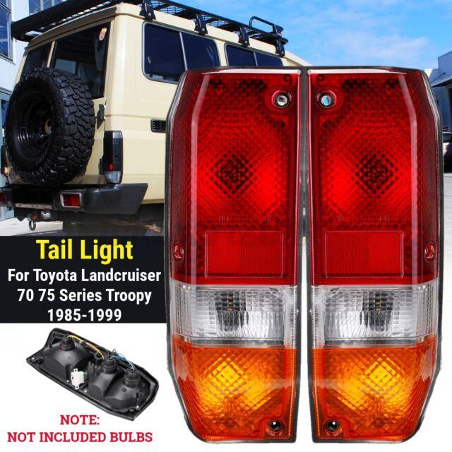 Right&Left Rear Tail Light Brake Lamp For Toyota Landcruiser 70 75 Series 85-99