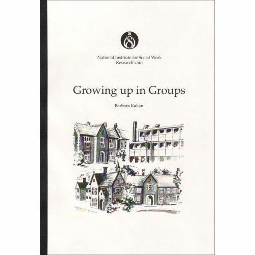 Growing Up in Groups, National Institute for Social Work, Used; Like New Book