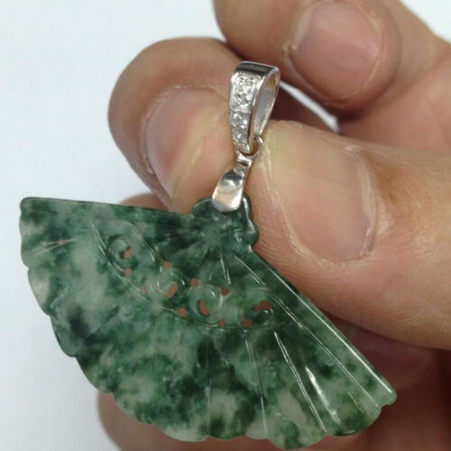 Different Style 925 Silver Bale Bail for Jade Pendant Installation Clasp Pinch