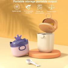 Large Capacity With Spoon Baby Feeding Detachable Portable Milk Powder Dispenser