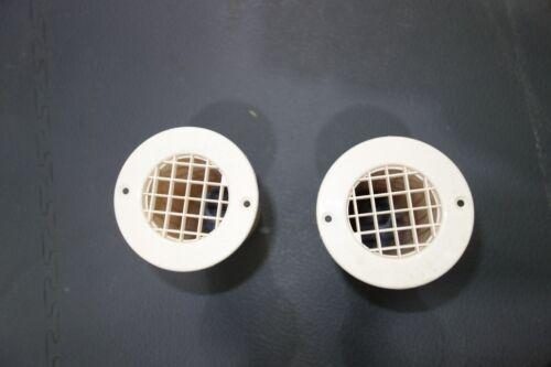 75mm x120mm Cream Gas//LPG drop vent floor vent camper van caravan motorhome x 2