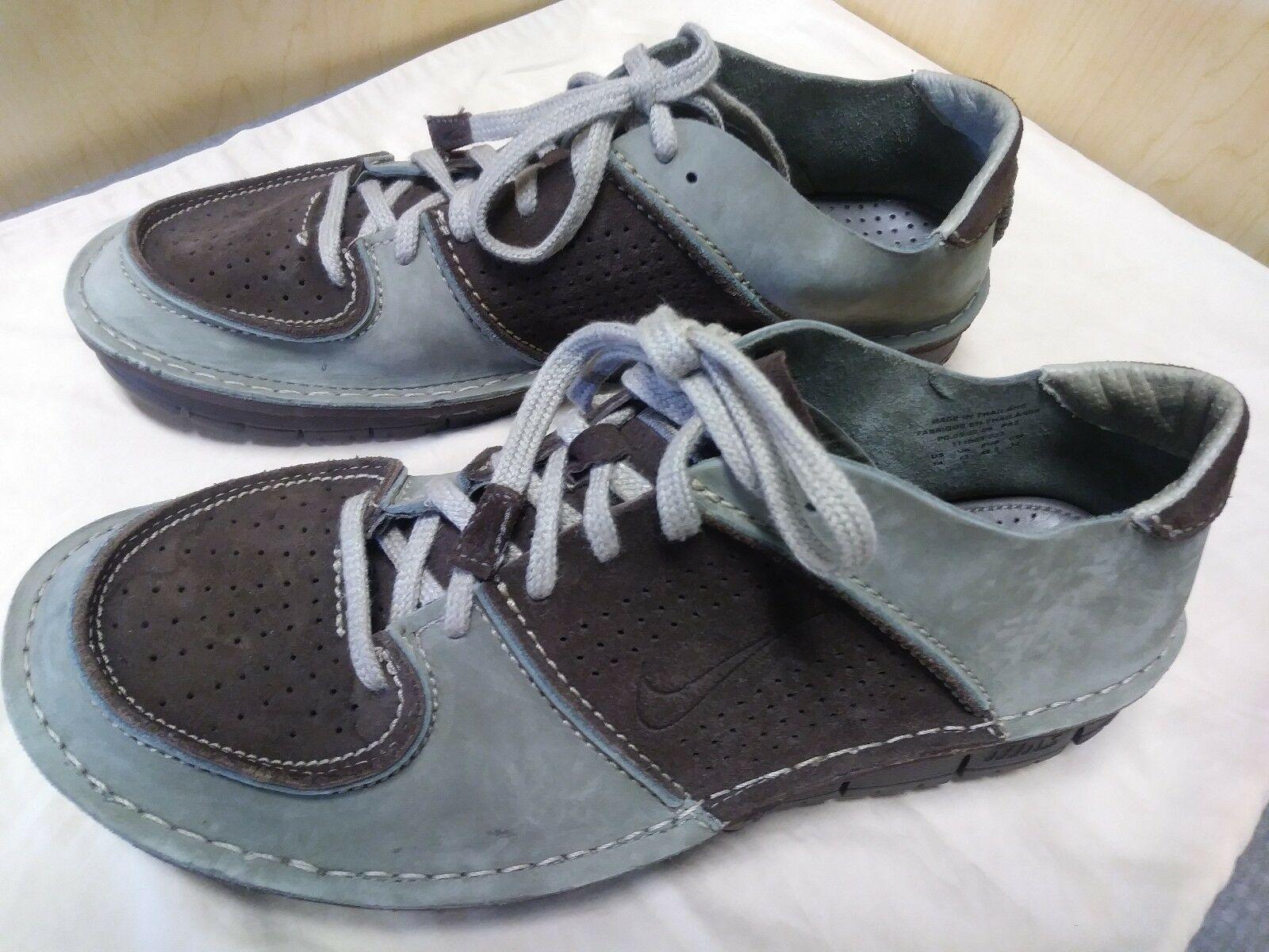 NIKE NIKE NIKE CONSIDERED SNEAKER COLOR  BROWN SUEDE & OLIVE NUBUCK 311009 SIZE  14 US d46b50