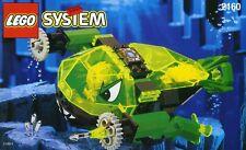 Lego 2160 Aquazone Aquaraiders Crystal Scavenger complete w/ minifigure