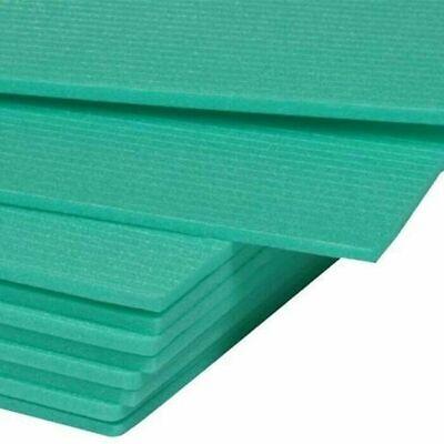 10-200 m² Trittschalldämmung Dämmung 5mm XPS Green Boden für Laminat Parkett