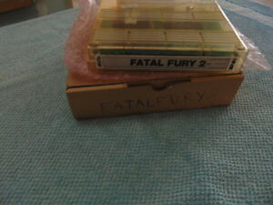 FATAL FURY 2 / CART & BOX ONLY / ORIGINAL NEOGEO MVS  **  627 - 44